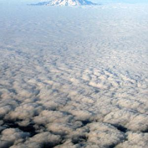 Mt. Hood from the Sky
