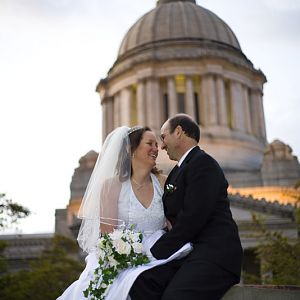 Bridal Portraits at the Capitol Building