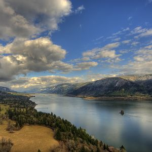 Columbia River Gorge from Cape Horn