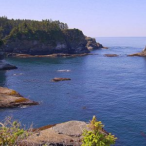 Cape Flattery-Pcific Ocean-most north-western tip of the U.S.