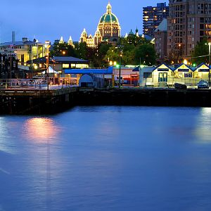Nightfall in Victoria