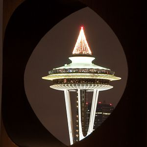 Space Needle Christmas
