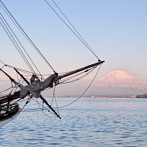 Lady Washington and Rainier