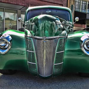 Mean Green Machine