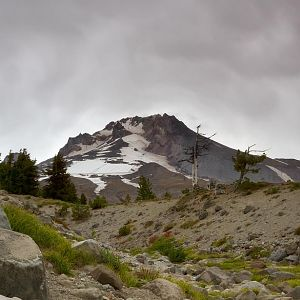 Summer turns to Fall on Mount Hood