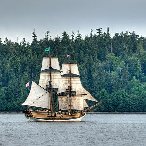 Lady Washington at Point Defiance