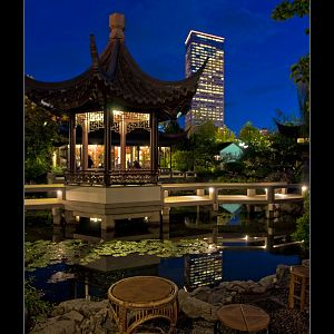 Lan-Su Garden After Dark