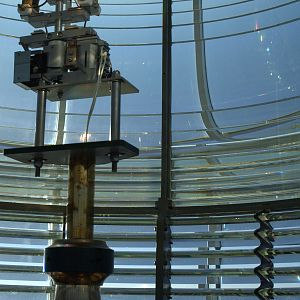 Yaquina Head Lighthouse Lens