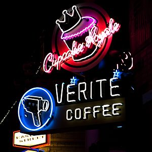 West Seattle Neon-Verite Coffee