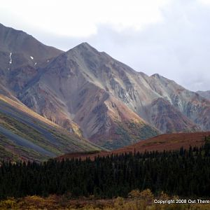 Autumn mountains, Alaska
