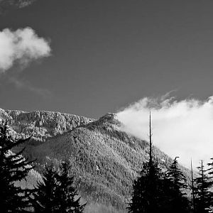 Mountain Views at Olallie State Park