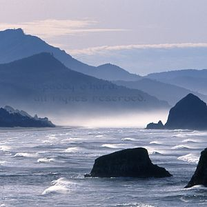 Cannon Beach and south