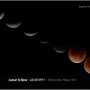 Lunar Eclipse - 12-10-2011