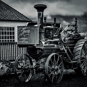 Steam tractor Built in 1900