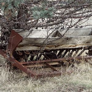 Abandoned Seed Drill