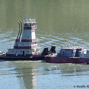 Tug and Fish Barge